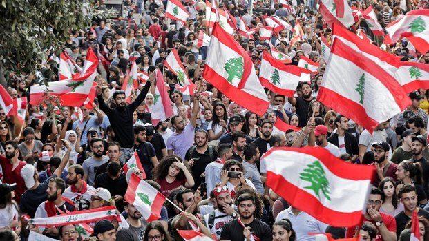 """Lübnanlı Emekçiler: """"Whatsapp Vergisi"""" Değil, Ekonomik Kriz ..."""